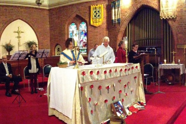 Anzac Sunday at Holy Trinity Hampton